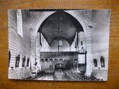 Villemaur-sur-vanne , Intérieur De L'église , Voûte De Bois Et Beau Jubé Bois Sculpté - Frankrijk