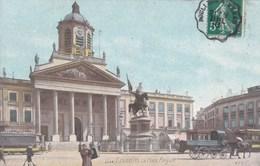 Brussel, Bruxelles, La Place Royale, Voiture Aubette (frituur?, Friture?) (pk39084) - Places, Squares