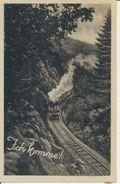 """AK Hasselfelde, Harzquerbahn, """"Ich Komme"""". Um 1940 - Deutschland"""