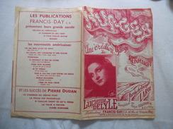 NUAGES LUCIENNE DELYLE   PAROLES JACQUES LARUE MUSIQUE DJANGO REINHARDT 1942 - Partitions Musicales Anciennes