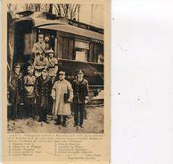 PHOTO PRISE LE  11 11 1918 AU MOMENT OU LE GENERAL FOCH PART POUR PARIS  REMETTRE AU GOUVERNEMENT LE TEXTE DE L ARMISTIC - Compiegne
