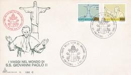 Vatikan, 1981 .Mi: 800 + 802, Die Reise Des Papstes - Christianisme