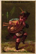 6 Trade Cards  Chromo Music  Pre 1900  Biniou Cornemuse  Bagpipe Dudelsack  Doedelzak Printer Testu &Massin - Other