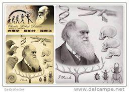 Postal Stationery Card Charles Robert Darwin Pre-stamped Card 0640 - Personajes Históricos