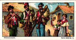 6 Trade Cards  Chromo Music  Pre 1900  Biniou Cornemuse  Bagpipe Dudelsack  Doedelzak Pub. Choc.Union Guérin Boutron - Other