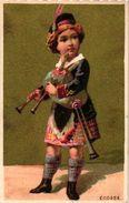 6 Trade Cards  Chromo Music  Pre 1900  Biniou Cornemuse  Bagpipe Dudelsack  Doedelzak    Printer Courbe-Rouzet - Other