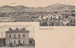 68 - BOLLWEILER - 2 VUES - RESTAURANT AUX 2 CLES - Other Municipalities