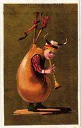7 Trade Cards  Chromo Music  Pre 1900  Biniou Cornemuse  Bagpipe Dudelsack  Doedelzak Pub.Biscuit Ducasse - Other