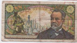 Billet/Banque De France / 5 Francs / Pasteur / 1966       BILL155 - 1962-1997 ''Francs''