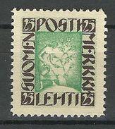 FINLAND FINNLAND Suomi Postilehti Merkki 25 Pen - Unused Stamps