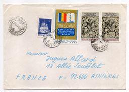 Roumanie-1979-Lettre De CLUJ-NAPOCA Pour ASNIERES-92(France) -Composition Timbres -cachet CLUJ - Cartas