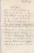 Handschriftlicher Brief Von 1913 - 4 Seiten (30570) - Documentos Históricos