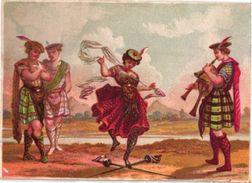 7 Trade Cards  Chromo Music  Pre 1900  Biniou Cornemuse  Bagpipe Dudelsack  Doedelzak  Calendar 1900 Printer Bognard - Other