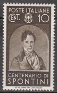 ITALY   SCOTT NO. 387    MINT HINGED     YEAR 1937 - Mint/hinged