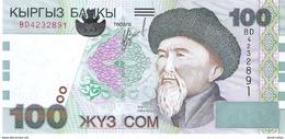 Kyrgyzstan - Pick 21 - 100 Som 2002 - Unc - Kirghizistan