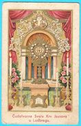 LUDBREG - Cudotvorna Sveta Krv Isusova  ... Croatia Vintage Holy Card * Image Pieuse Santino Fustellato Kroatien Croazia - Devotion Images