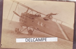 GUERRE 14 / 18  AVIATION - Photo Originale D'un Avion De Combat, Paul Chorel Aviateur - War, Military