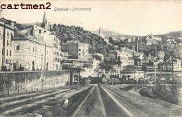 GENOVA PANORAMA GENOA GENES ITALIE ITALIA - Genova