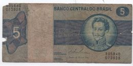 Billet / Brésil / Banco Central Do Brasil/  Cinco Cruzeiros/ Date ?   BILL163 - Brésil