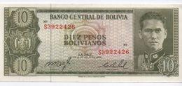 Billet / Bolivie /  / Banco Central De Bolivia/  Diez Pesos Bolivianos/ 1962   BILL164 - Bolivia