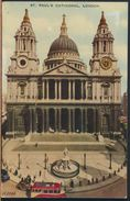 °°° 7641 - UK - LONDON - ST. PAUL'S CATHEDRAL - 1955 With Stamps °°° - St. Paul's Cathedral