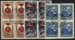 RUSSIA, Yv 1046, 1048, Latvia 52, Used, F/VF - 1923-1991 USSR