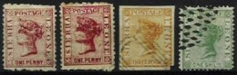 SIERRA LEONE, Yv 5, 7, 9, Used, Ave/Fine, Cat. € 140,00 - Sierra Leone (...-1960)