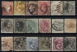 SPAIN, Collection, */o M/U, F/VF - Spain