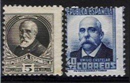 SPAIN, Yv 499, 506A, ** MNH, F/VF, Cat. € 160,00 - 1931-50 Neufs