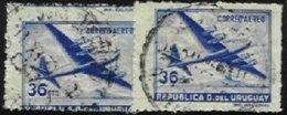 URUGUAY, Yv 129, Used, F/VF - Uruguay