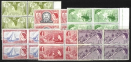 BERMUDA, Yv 133/8, ** MNH, VF/XF, Cat. € 18,00 - Bermudes