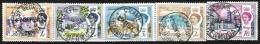 BERMUDA, Yv 163/5, 170, 173, Used, F/VF, Cat. € 8,00 - Bermudes
