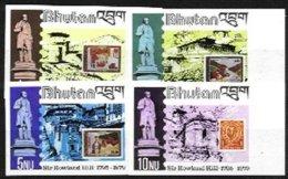 BHUTAN, Yv 539/42, ** MNH, VF/XF - Bhoutan