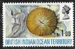 B.I.O.T., Yv 46, SG 43Ei, ** MNH, VF/XF - British Indian Ocean Territory (BIOT)