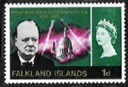 FALKLAND ISLANDS, Yv 153, SG 224Ei, ** MNH, VF/XF - Falkland