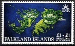 FALKLAND ISLANDS, Yv 367, ** MNH, VF/XF - Falkland