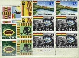 GHANA, Yv 41/7, ** MNH, VF/XF, Cat. € 16,00 - Ghana (1957-...)