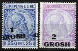ALBANIA, Yv 41/41A, * MLH, F/VF - Albanie
