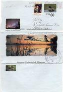 UNITED STATES / ESTADOS UNIDOS 2005. Entire Aerogramme Of 0,60 Duck, From Buffalo, NY To Buenos Aires - 2001-10
