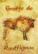 """FRANCE 2006 : Encart 1er Jour """" GROTTE DE ROUFFIGNAC """". N° YT 3905. Voir Les 2 Scans. - Préhistoire"""