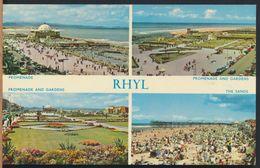 °°° 7649 - GALLES - RHYL - VIEWS °°° - Denbighshire