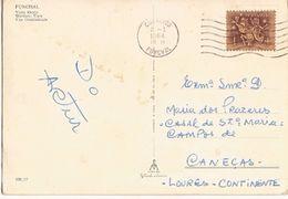 Portugal & Bilhete Postal, Western  View Of Funchal, Caneças, Loures Portugal 1964 (27) - Lettres & Documents