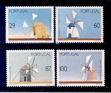 ! ! Portugal - 1989 Windmills (Complete Set) - Af. 1894 To 1897 - MH - Nuevos