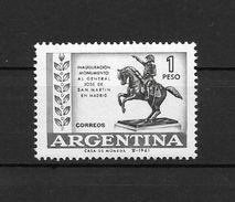 INAUGURACION DEL MONUMENTO AL GENERAL JOSE DE SAN MARTIN EN MADRID ESPAÑA ARGENTINA L'ARGENTINE JALIL GOTTIG NR. 1216 GR - Argentina