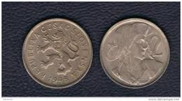 CHECOSLOVAQUIA  - 2 Koruna  1948  KM23 - Checoslovaquia