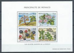 Monaco Bloc-feuillet YT N°74 Les Quatre Saisons De La Ronce Neuf ** - Blocs