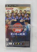 PSP Japanese : Winning Eleven 2010 : Aoki Samurai No Chousen ULJM 05648 - Sony PlayStation