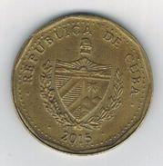Cuba 1 Peso  2015, AUNC, FREE SHIP. TO USA. - Cuba