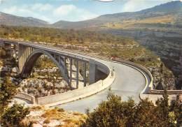 GORGES DU VERDON Un Des Sites Les Plus Grandioses Du Monde L Audacieux Pont L Artuby 22(scan Recto-verso) MA762 - France