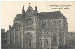 1121. RENNES . BASILIQUE St-AUBIN EN NOTRE-DAME DE BONNE-NOUVELLE Inauguree Les 24 Et 26 Mars 1904. Non Ecrite - Rennes